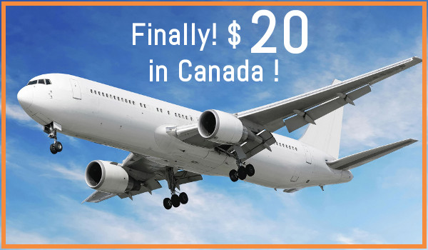 GREAT NEWS : $20 Flights Are Coming to Canada - A new ULCC will be launched this year